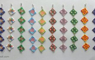Peyote karkötők/Peyote bracelets
