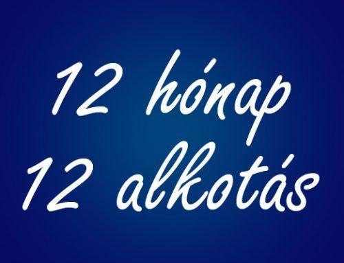 12 hónap – 12 alkotás: 2018. januári alkotások