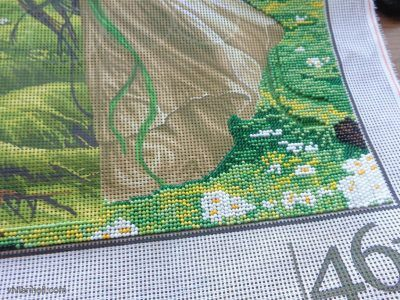 Gyöngygobelin/Tapestry with beads