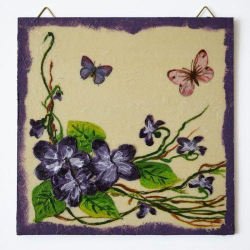 Lila virágok/Purple flowers