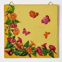 Virágok és pillangók/Flowers and butterflies