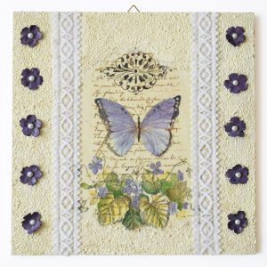 Szalagos sorozat – Pillangó/Lace ribbon series – Butterfly