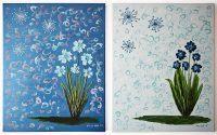 Kék virágok/Blue flowers